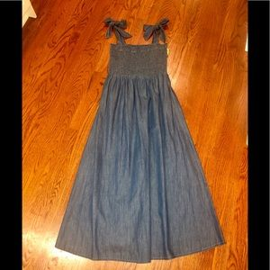 CeCe Chambray Sleeveless Dress